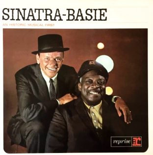 Frank Sinatra & Count Basie - Sinatra-Basie: An Historic Musical First (LP) (VG/VG)
